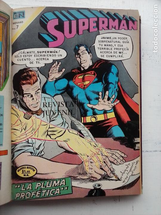 Tebeos: SUPERMAN NOVARO - 12 TEBEOS MUY BIEN CONSERVADOS - Foto 28 - 115747059