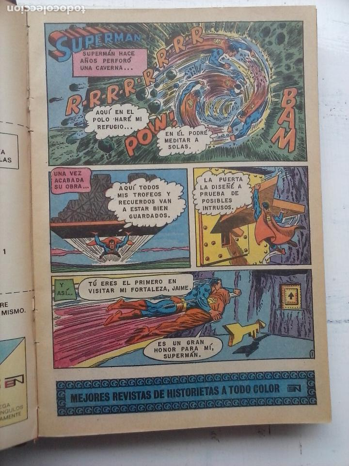 Tebeos: SUPERMAN NOVARO - 12 TEBEOS MUY BIEN CONSERVADOS - Foto 33 - 115747059