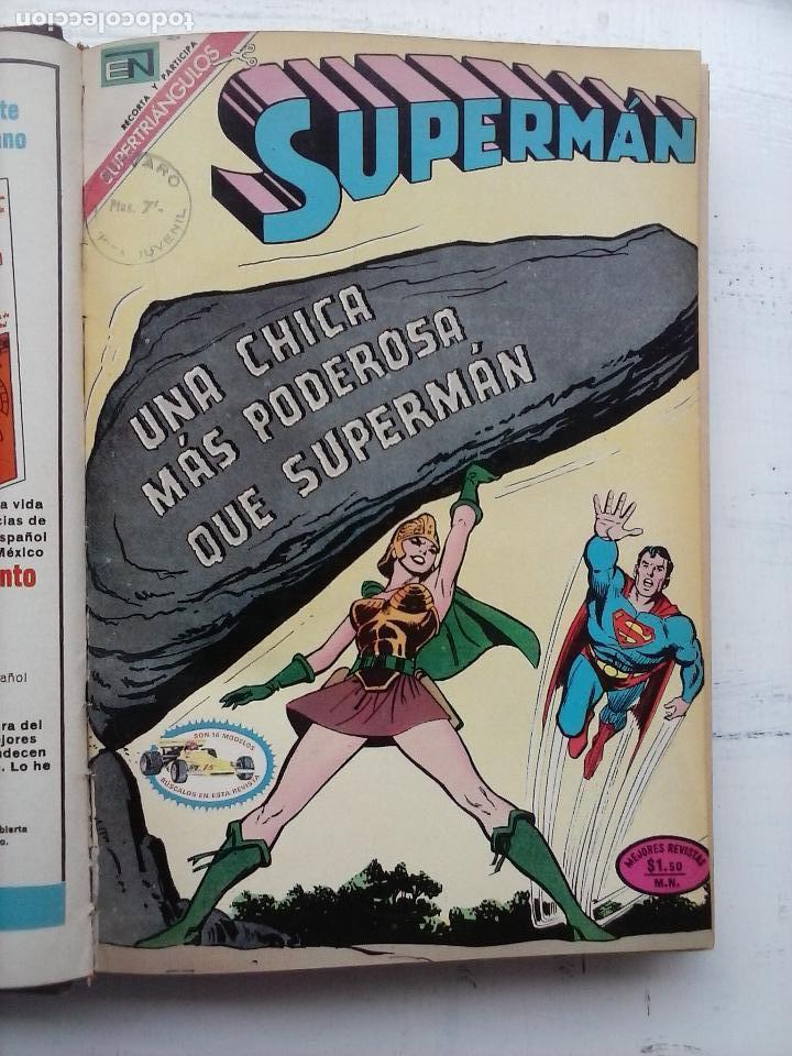 Tebeos: SUPERMAN NOVARO - 12 TEBEOS MUY BIEN CONSERVADOS - Foto 34 - 115747059