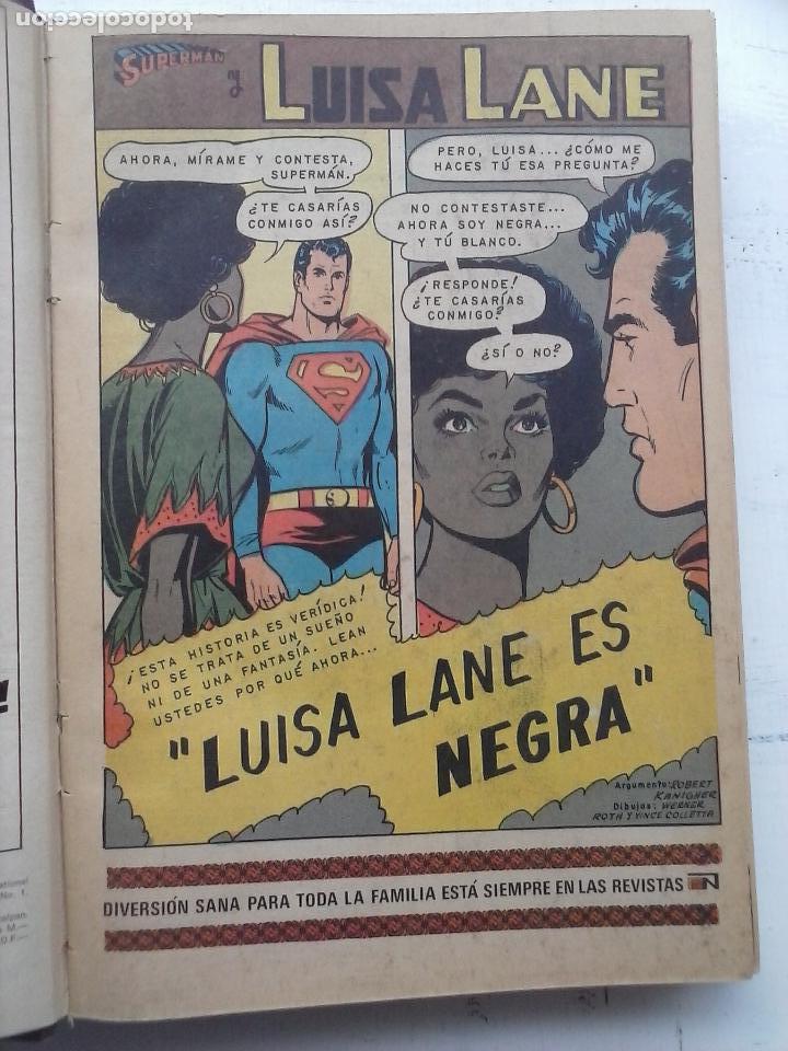 Tebeos: SUPERMAN NOVARO - 12 TEBEOS MUY BIEN CONSERVADOS - Foto 35 - 115747059