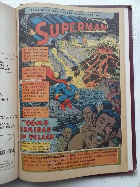 Tebeos: SUPERMAN NOVARO - 12 TEBEOS MUY BIEN CONSERVADOS - Foto 39 - 115747059