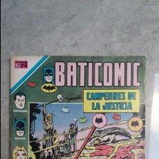 Tebeos: BATICOMIC N° 56 EXTRAORDINARIO - CAMPEONES DE LA JUSTICIA - ORIGINAL EDITORIAL NOVARO. Lote 116198323