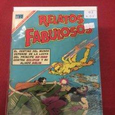 Tebeos: RELATOS FABULOSOS NUMERO 93 MUY BUEN ESTADO REF.P. Lote 116465043