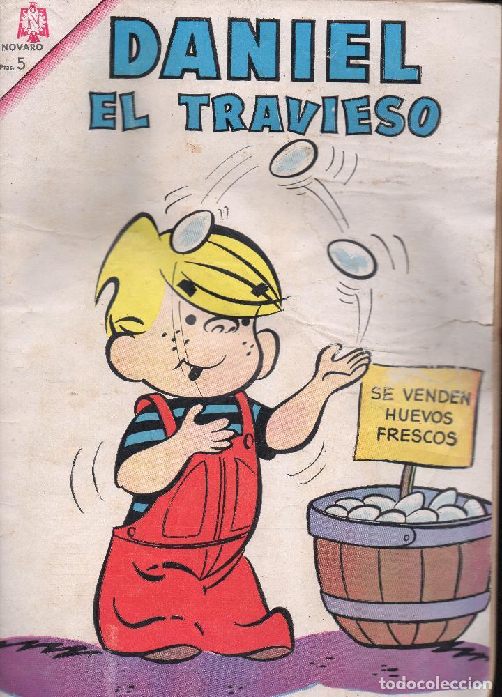 DANIEL EL TRAVIESO Nº 34 (1966) (Tebeos y Comics - Novaro - Otros)