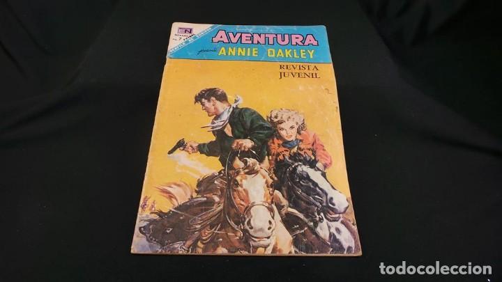 Tebeos: ANNIE DAKLEY SERIE AVENTURA ANTIGUO ,TEBEO,CÓMIC RETRO VINTAGE-ORIGINAL NOVARO,537 - Foto 2 - 116666011