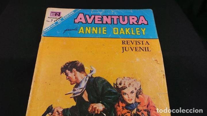 Tebeos: ANNIE DAKLEY SERIE AVENTURA ANTIGUO ,TEBEO,CÓMIC RETRO VINTAGE-ORIGINAL NOVARO,537 - Foto 4 - 116666011