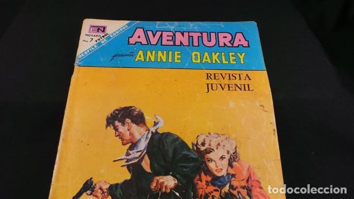Tebeos: ANNIE DAKLEY SERIE AVENTURA ANTIGUO ,TEBEO,CÓMIC RETRO VINTAGE-ORIGINAL NOVARO,537 - Foto 5 - 116666011