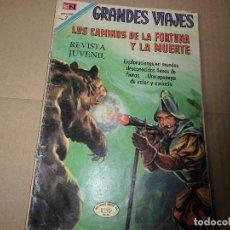 GRANDES VIAJES Nº 87 LOS CAMINOS DE LA FORTUNA Y LA MUERTE NOVARO