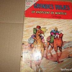 Tebeos - GRANDES VIAJES Nº 12 UN AMERICANO EN MONGOLIA NOVARO - 116779615
