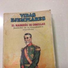 Tebeos: TOMO CON 15 EJEMPLARES : EL MARQUES DE COMILLAS Y 14 EJEMPLARES MAS. Lote 116889059