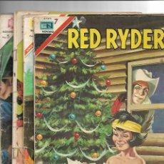 Tebeos: RED RYDER, AÑO 1.965. Nº 132 - 135 - 150 - 168. SON ORIGINALES EDITORIAL NOVARO.. Lote 117968958