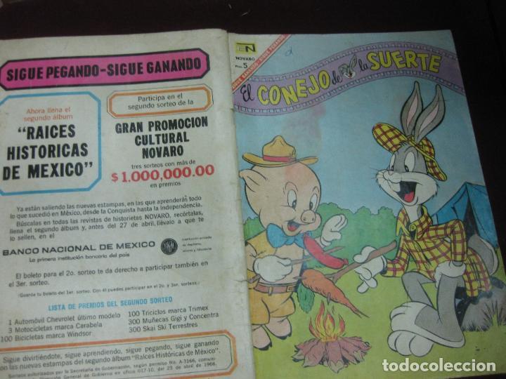 dd36f2092780 el conejo de la suerte. nº 263. editorial novar - Comprar Tebeos El ...
