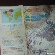 Tebeos: GRANDES VIAJES Nº 35. AL POLO NORTE EN GLOBO. EDITORIAL NOVARO 1965.. Lote 117348515