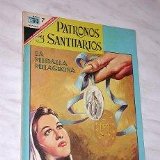 Tebeos: LA MEDALLA MILAGROSA (CATALINA LABOURÉ). COL. PATRONOS Y SANTUARIOS Nº 13. ED. NOVARO, 1967. +++. Lote 117365719