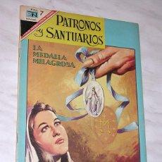 Tebeos: LA MEDALLA MILAGROSA (CATALINA LABOURÉ). COL. PATRONOS Y SANTUARIOS Nº 13. ED. NOVARO, 1967. +++. Lote 117365751
