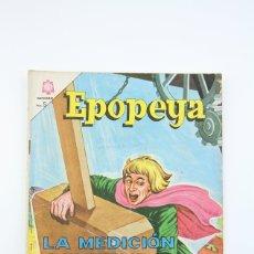 Tebeos: ANTIGUO CÓMIC - EPOPEYA / LA MEDICIÓN DEL TIEMPO Nº 77 - EDITORIAL NOVARO, AÑO 1964. Lote 117811414