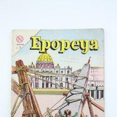Tebeos: ANTIGUO CÓMIC - EPOPEYA / LA BASILICA DE SAN PEDRO Nº 70 - EDITORIAL NOVARO, AÑO 1964. Lote 117811527