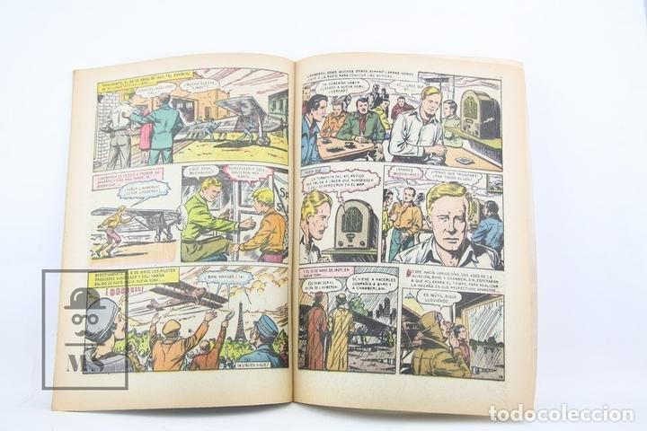 Tebeos: Antiguo Cómic - Grandes Viajes / Lindbergh Cruza El Atlántico Nº 13 - Editorial Novaro, Año 1964 - Foto 2 - 117811620