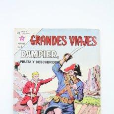 Tebeos: ANTIGUO CÓMIC - GRANDES VIAJES / DAMPIER PIRATA Y DESCUBRIDORES Nº 10 - EDITORIAL NOVARO, AÑO 1963. Lote 117811658