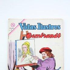 Tebeos: ANTIGUO CÓMIC - VIDAS ILUSTRES / REMBRANDT Nº 100 - EDITORIAL NOVARO, AÑO 1964. Lote 117811908