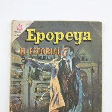 Tebeos: ANTIGUO CÓMIC - EPOPEYA / EL ESCORIAL Nº 92 - EDITORIAL NOVARO, AÑO 1966. Lote 117812840