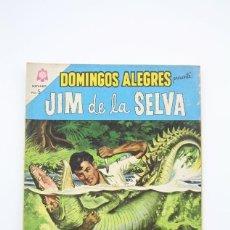 Tebeos: ANTIGUO CÓMIC - DOMINGOS ALEGRES / JIM DE LA SELVA Nº 548 - EDITORIAL NOVARO, AÑO 1964. Lote 117824607