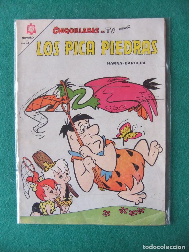 CHIQUILLADAS TV Nº 179 LOS PICA PIEDRA EDITORIAL NOVARO (Tebeos y Comics - Novaro - Otros)