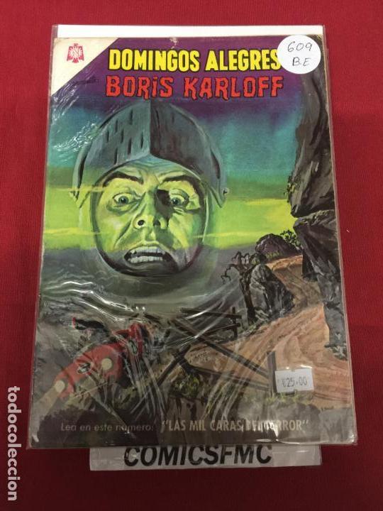 DOMINGOS ALEGRES NUMERO 609 BUEN ESTADO REF.5 (Tebeos y Comics - Novaro - Domingos Alegres)