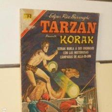Livros de Banda Desenhada: TARZAN PRESENTA KORAK EL HIJO DE TARZAN Nº 279 - NOVARO - 1971. Lote 118382079