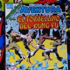 Tebeos: AVENTURA PRESENTA EL TORBELLINO DEL KUNG-FU NUMERO 2-912 11/07/1979. Lote 118419651