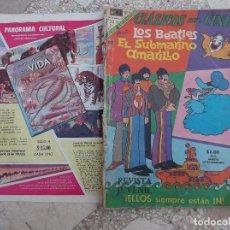 Tebeos: CLASICOS DEL CINE, LOS BEATLES, EL SUBMARINO AMARILLO, DE NOVARO, Nº EXTRAODINARIO, MAYO-1969. Lote 118430603