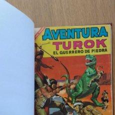 Tebeos: TUROK EL HOMBRE DE PIEDRA DE NOVARO- TOMO RECOPILATORIO 250 PÁGINAS. Lote 118524735