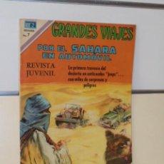 Tebeos: GRANDES VIAJES Nº 94 POR EL SAHARA EN AUTOMOVIL - NOVARO. Lote 118641887