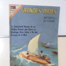 Tebeos: GRANDES VIAJES Nº 75 LA PELIGROSA AVENTURA DE BOMBARD - NOVARO. Lote 118641971