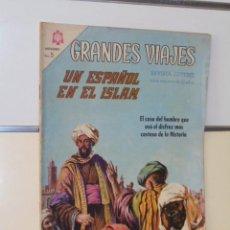 Tebeos: GRANDES VIAJES Nº 40 UN ESPAÑOL EN EL ISLAM - NOVARO. Lote 118642143