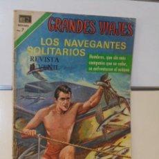 Tebeos: GRANDES VIAJES Nº 96 LOS NAVEGANTES SOLITARIOS - NOVARO. Lote 118643035