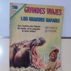 Tebeos: GRANDES VIAJES Nº 86 LOS GRANDES SAFARIS - NOVARO. Lote 118643115