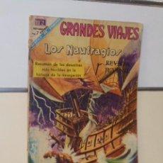 Tebeos: GRANDES VIAJES Nº 62 LOS NAUFRAGIOS - NOVARO. Lote 118643467