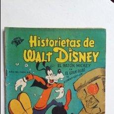 Tebeos: HISTORIETAS DE WALT DISNEY N° 34 - ORIGINAL EDITORIAL NOVARO. Lote 118659207