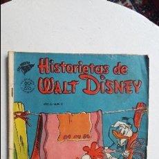 Tebeos: HISTORIETAS DE WALT DISNEY N° 10 - ORIGINAL EDITORIAL NOVARO. Lote 118659423