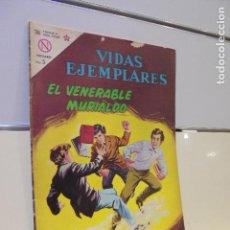 Tebeos: VIDAS EJEMPLARES Nº 164 EL VENERABLE MURIALDO - NOVARO -. Lote 119029015