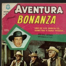 Tebeos: BONANZA AVENTURA NOVARO Nº 403 - 1965. Lote 119134435