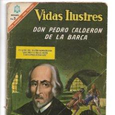 Tebeos: VIDAS ILUSTRES, DON PEDRO CALDERÓN DE LA BARCA. Nº 149. AÑO 1.966. ORIGINAL.. Lote 119368959