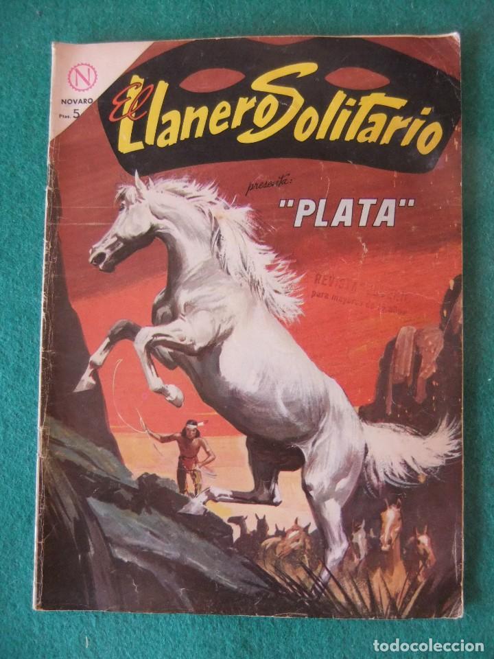 EL LLANERO SOLITARIO Nº 133 PLATA EDITORIAL NOVARO (Tebeos y Comics - Novaro - El Llanero Solitario)