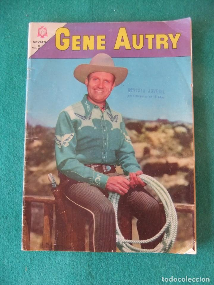 Tebeos: GENE AUTRY Nº 125 EDITORIAL NOVARO - Foto 1 - 119423999