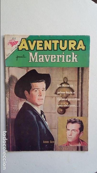 MAVERICK - AVENTURA N° 211 - ORIGINAL EDITORIAL NOVARO (Tebeos y Comics - Novaro - Aventura)