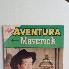 Tebeos: MAVERICK - AVENTURA N° 211 - ORIGINAL EDITORIAL NOVARO. Lote 119474063