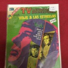 Tebeos: TV MUNDIAL NUMERO 249 MUY BUEN ESTADO REF.6. Lote 119498899