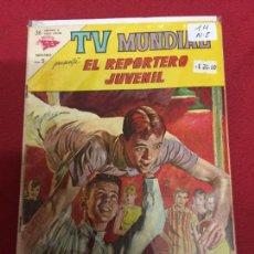 Tebeos: TV MUNDIAL NUMERO 14 NORMAL ESTADO REF.6. Lote 119499351