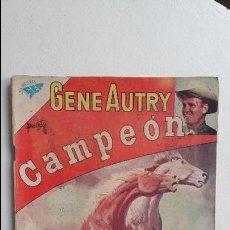Tebeos: GENE AUTRY N° 89 - ORIGINAL EDITORIAL NOVARO. Lote 119509415